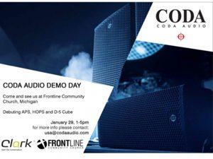 Coda CODA AUDIO Demo Day