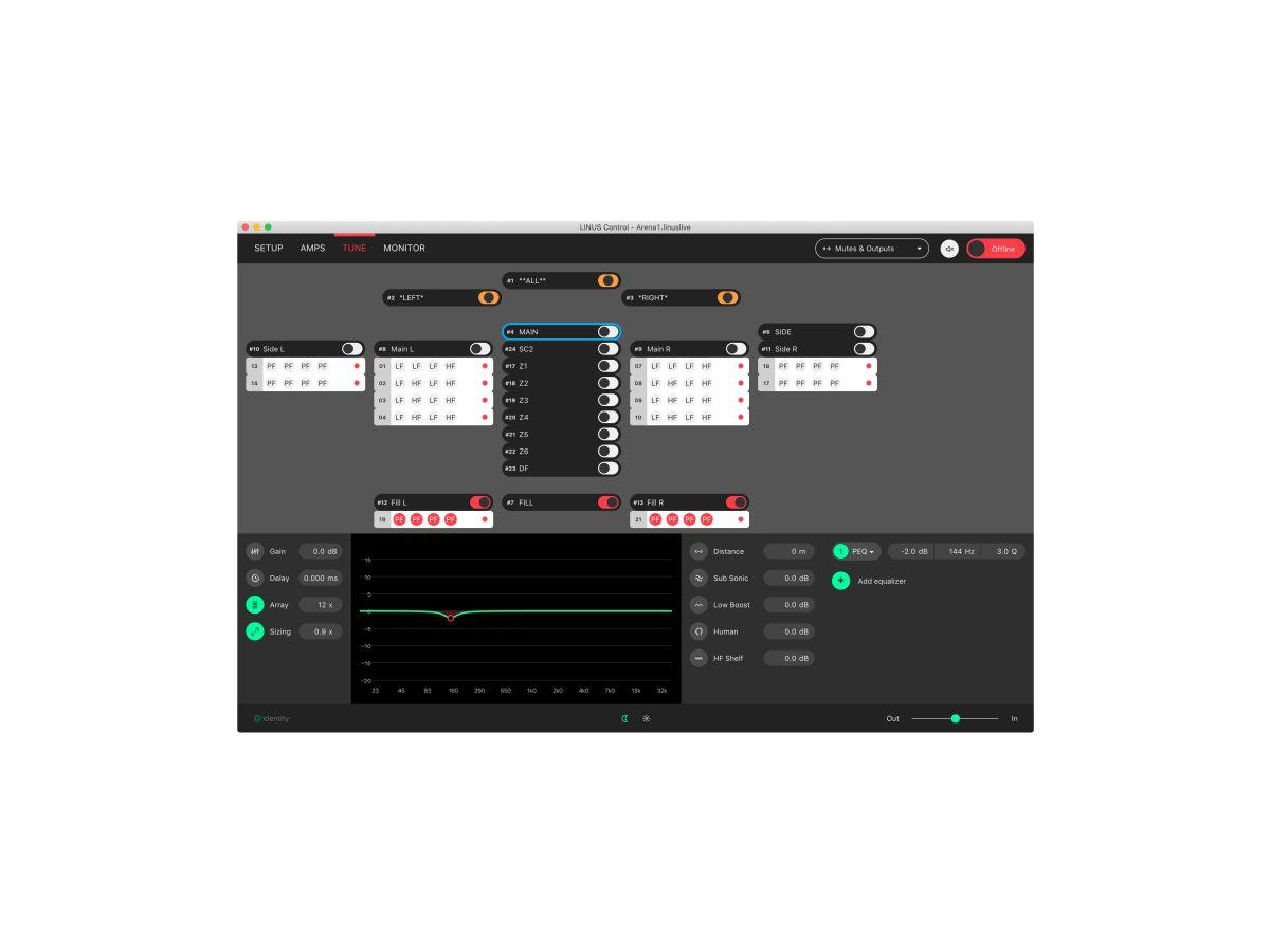 LINUS Control Photo