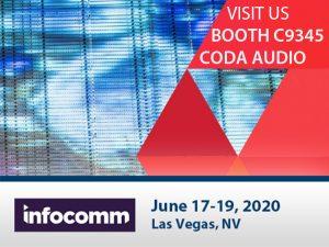 Coda InfoComm2020 – Cancelled